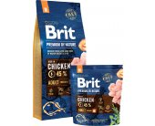 Brit by Nature Adult M 3kg