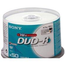 Diskid Sony DVD-R 16x, 50, 4.7, DVD-R...