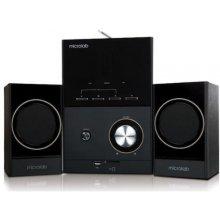 Kõlarid Microlab M-223U 2.1, 17 W