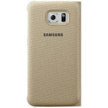 Samsung S-View ümbris Fabric für S6 gold