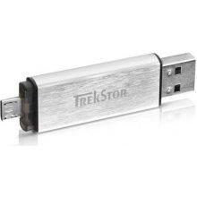 Флешка Trekstor USB-Stick 2.0 DUO alu 8GB...