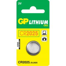 GP Batteries CR2025 liitium Cell, liitium...