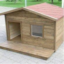 Inpuit soojustamata terrassiga koerakuut...
