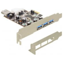 Delock PCI Expr Card 3x USB3.0 ext + 1x...