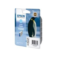 Tooner Epson T5595 Tinte Hellcyan
