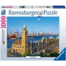RAVENSBURGER 1000 ELEMENTÓW Hamburg
