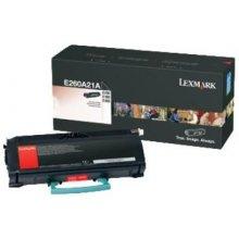 Tooner Lexmark Toner black | 3500pgs | E260...