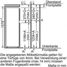 Холодильник BOSCH KID28A21 (EEK: A+)