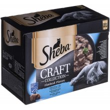 Sheba Craft Collection Fish Flavors 12 x 85g