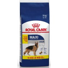Royal Canin Maxi Adult 15kg + 3kg БЕСПЛАТНО...