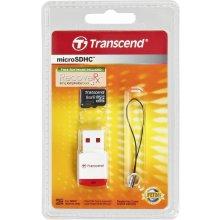 Флешка Transcend microSDHC 8GB