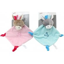 Axiom Cuddly toy koos rattle Milus Donkey...
