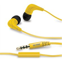 Acme HE15Y Groovy in-ear наушники с mic 3.5...