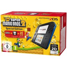 Mängukonsool NINTENDO 2DS black incl. New...