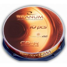 Диски Titanum CD-R 700MB x56 - Cake Box 10