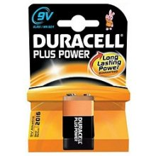 DURACELL Batterie Plus Power -9V...