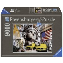 RAVENSBURGER pusle 9000 tk New York