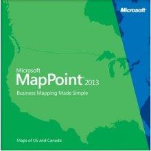 Microsoft MapPoint 2013, OLP-NL, DVD-ROM VGA...