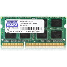 Mälu GOODRAM SODIMM DDR3 4GB/1333 CL9 512*8...