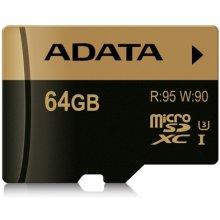 Mälukaart ADATA mälu card SDXC UHS-I U3 64GB...