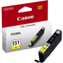 Tooner Canon CLI-551 Y, kollane, Standard...