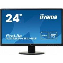 Монитор IIYAMA X2483HSU-B2 24inch, Full HD...