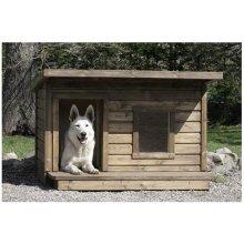 Inpuit soojustatud terrassiga koerakuut LEXA