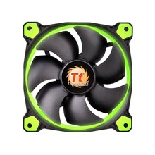 Thermaltake Fan 120mm Riing 12 LED roheline