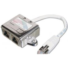 DIGITUS RJ45 адаптер кабель / 2x RJ45 Cat.5e