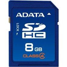 Флешка ADATA 8 GB, SDHC, Flash память class...