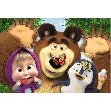 TREFL Puzzle 60 pcs Masha ja The Bear -...