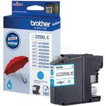 Tooner BROTHER LC-225XLC tint Cartridge...