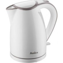 Чайник Amica Electric kettle белый-coffee...