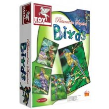 Toy Kraft Birds to decorate koos sequins...