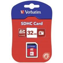 Mälukaart Verbatim SDHC 32Gb