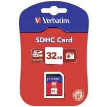Флешка Verbatim Atmiņas karte SDHC 32Gb cl4...