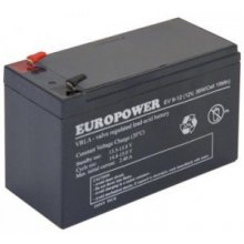 EMU батарея 12V 9AH VRLA/EV9-12 T2 EUROPOWER