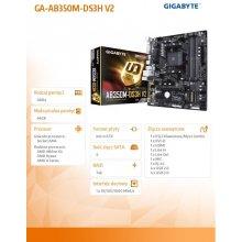 Emaplaat GIGABYTE GA-AB350M-DS3H V2, AM4...