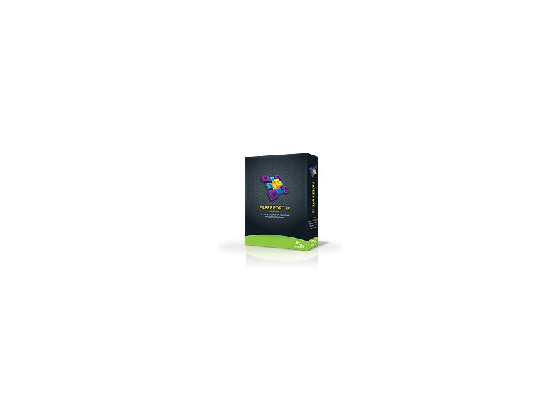 Nuance PaperPort Standard 14, Full Box, Win, CD, DE, Intel Pentium+,  Windows XP/7/Vista, Box