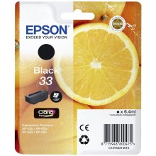Тонер Epson Ink Singlepack чёрный 33 Claria...