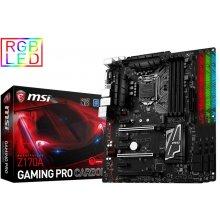 Материнская плата MSI MB Z170A Gaming PRO...