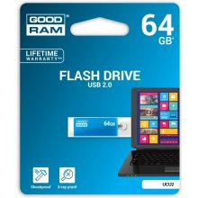 Флешка GOODRAM CUBE 64GB USB2.0 BLUE