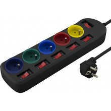ESPERANZA POWER STRIP 1.5M 5 SEATS, POWER...