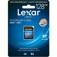Mälukaart Lexar SDXC Card 300x Premium II...