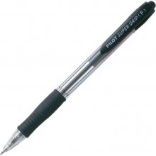 Pilot Pastapliiats Super Grip, 0,7mm, must...