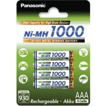 PANASONIC батарея NI-MH 930 MAH 4XAAA HIGH...
