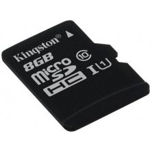 Mälukaart KINGSTON mälu card microSDHC 8GB...