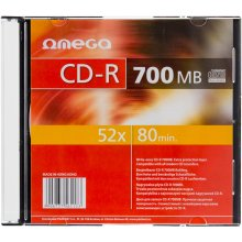 OMEGA CD-R 700MB 52x Slim