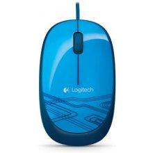 Мышь LOGITECH MOUSE USB OPTICAL M105/BLUE...