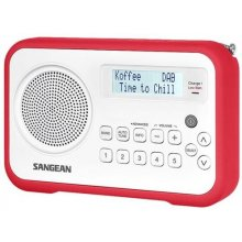 Raadio Sangean Radio DAB+ DPR-67 White/Red